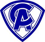Carman-Ainsworth Blue Crest Logo